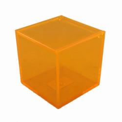 Image of   Boks i orange akryl