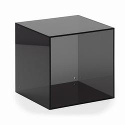 Image of   Akryl kasse kvadratisk - smoke