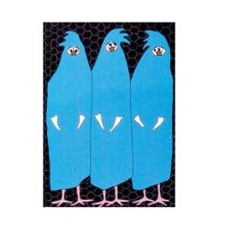 Burkahøns plakat fra anni gamborg fra fenomen