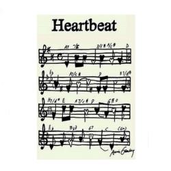 Heartbeat plakat fra anni gamborg på fenomen