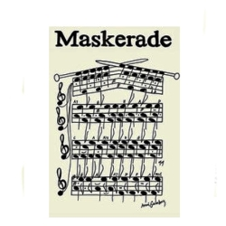 anni gamborg Maskerade plakat fra fenomen