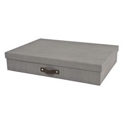 Arkivkasse A3 grå - Bigso Box