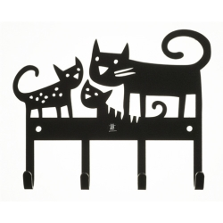 bengt & lotta – Cat hanger - knagerække med katte på fenomen