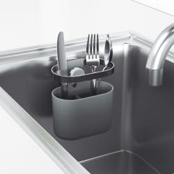 Image of   Bestik holder til vask med sugekop