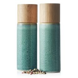 Image of   Bitz salt og peber sæt - grøn