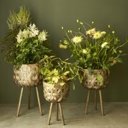 Image of   Blomster krukker til gulv - 3 stk