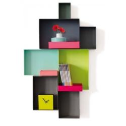 Image of   Kasser til væg - Due Colori