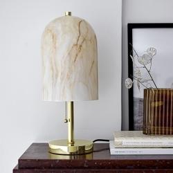 Image of   Lampe med glasskærm - Bloomingville