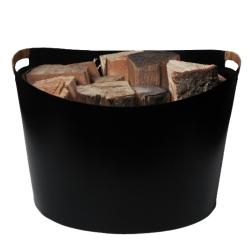 Brændekurv i metal – Ørskov
