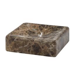 Image of   Sæbeskål brun marmor - AQUANOVA