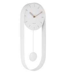 Image of   Charm pendulur vægur - hvid