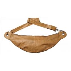 encoded – Chris bumbag - natur brun læder fra fenomen