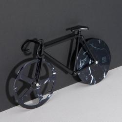 Cykel pizzaskærer - sort marmor fra doiy på fenomen