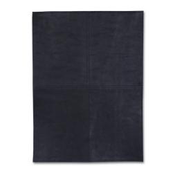 Image of   Dækkeserviet sort firkantet
