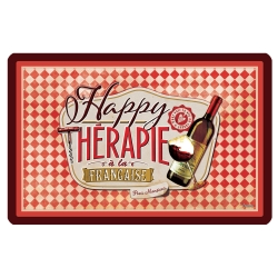 Image of   Dækkeserviet - Happy therapie vin