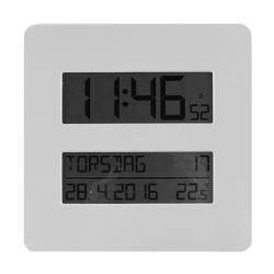 Image of   Digital radiokontrolleret ur med dansk tekst
