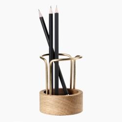 Pen-up blyantsholder - egetræ fra dot aarhus fra fenomen