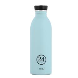 Urban drikkeflaske - cloud blue fra 24bottles på fenomen