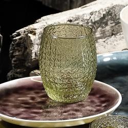 Drikkeglas grøn - 6 stk. fra gillian jones fra fenomen