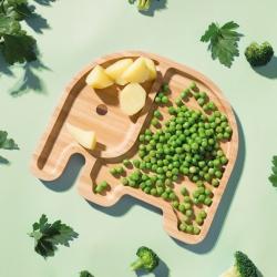 xd design Børne tallerken - elefant fra fenomen