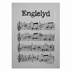 Image of Englelyd plakat