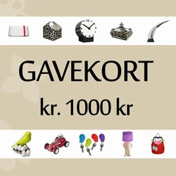 Image of   Gavekort 1.000 kr.