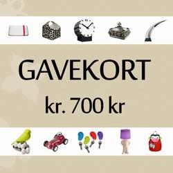 Image of   Gavekort 700 kr.
