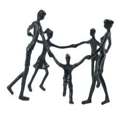 Image of   Figur familie i rundkreds
