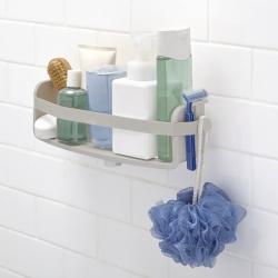 umbra Flex holder til bad med sugekopper - grå fra fenomen