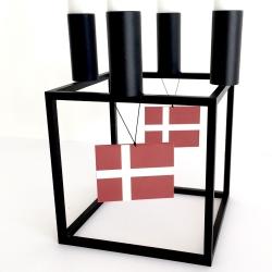 Image of   Fødselsdags flag med ophæng - 2 stk.