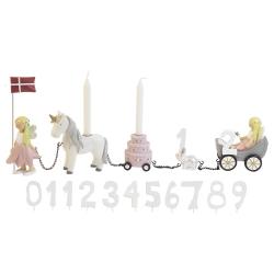Image of   Fødselsdagstog - Blomsterfeer