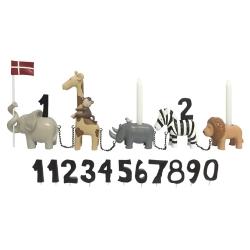 Image of   Fødselsdagstog - Safaridyr