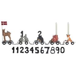 Image of   Fødselsdagstog - Skovdyr
