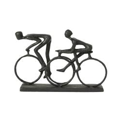 Image of   Figur mennesker på cykel