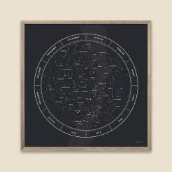 Gehalt plakat stjernebilleder - sort fra gehalt fra fenomen