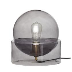 Image of   Glas bordlampe - Hübsch