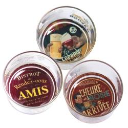 Image of   Cocktailglas 3 stk. - Bistrot des Amis