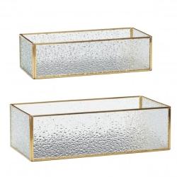 Glas bokse hübsch - 2 stk fra hübsch fra fenomen