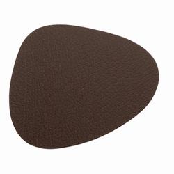 Image of   Glasbrikker - brun læder - 4 stk.