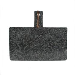 Image of   Skærebræt i granit - mørk grå