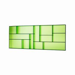 Image of   Sættekasse - grøn akryl