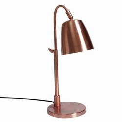 Image of   Kobber lampe