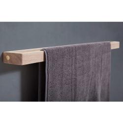 Image of   Håndklædestang enkel egetræ - Andersen Furniture