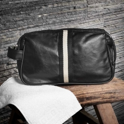 tfa – Herretoilettaske - sort læder l på fenomen