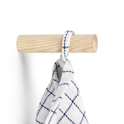 Wood hook i natur 2 stk - nomess fra nomess fra fenomen