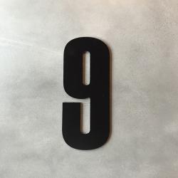 zone – Husnummer 9 sort - 20 cm fra fenomen