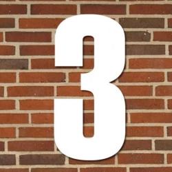 tfa Hvidt husnummer 40 cm - 3 fra fenomen