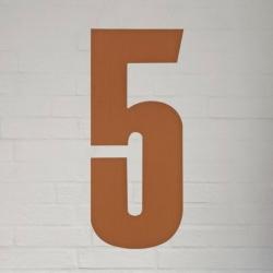natives Kobber husnummer 40 cm - 5 fra fenomen