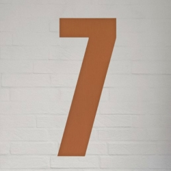 natives Kobber husnummer 40 cm - 7 fra fenomen