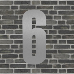 natives – Sølv husnummer 40 cm - 6 på fenomen